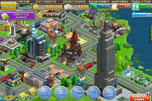Virtual city: Playground pour Android