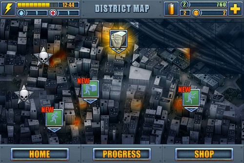 Screenshot Dead route on iPhone