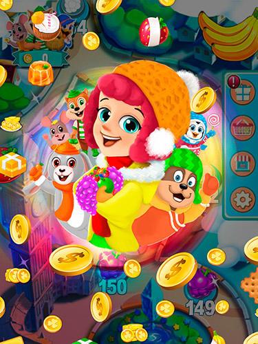 Arcade-Spiele Fruit shake: Candy adventure match 3 game für das Smartphone