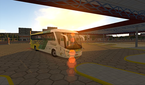 Heavy bus simulator captura de pantalla 1
