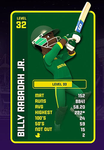 Sports games T20 card cricket for smartphone