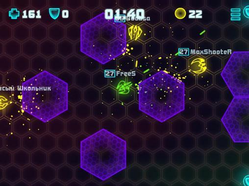 Shooter Neon battleground auf Deutsch