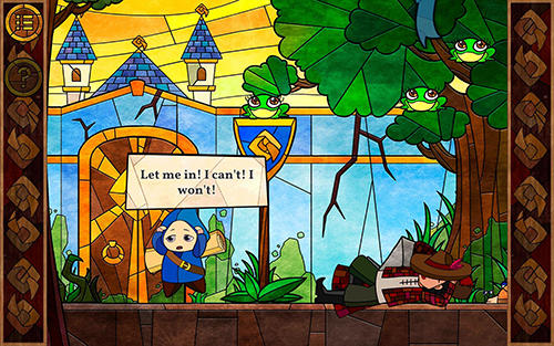 Message quest: Adventures of Feste screenshot 1
