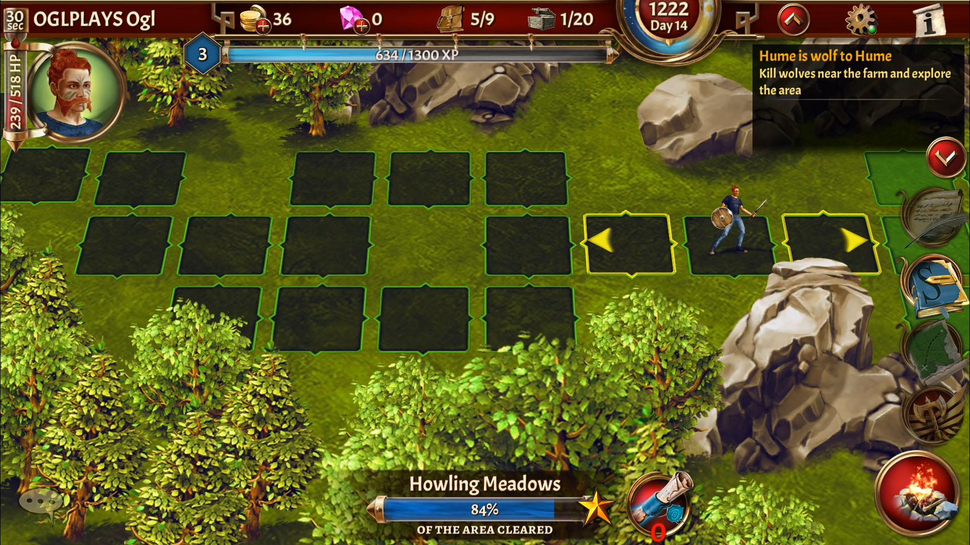Eterna: Heroes Fall - Deep RPG captura de pantalla 1