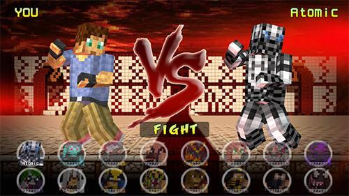 Cube pixel fighter 3D auf Deutsch