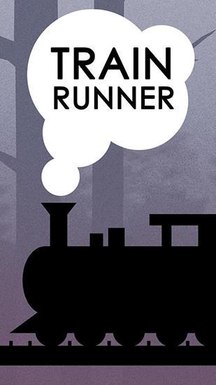 Train runner icon