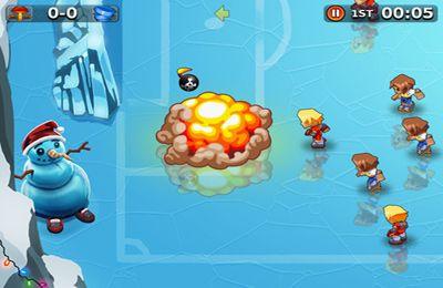 Screenshot Spassiges Fussballspiel auf dem iPhone