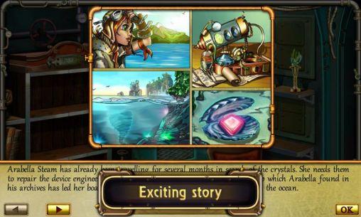 3 Gewinnt-Spiele Treasures of the deep auf Deutsch