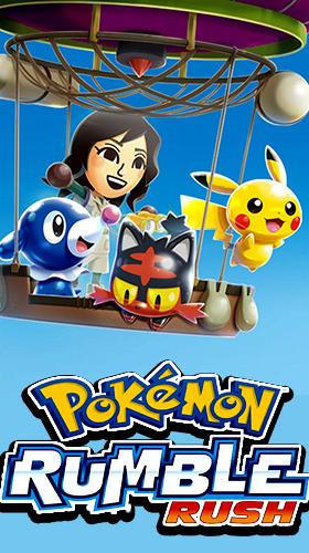 Pokemon rumble rush captura de pantalla 1
