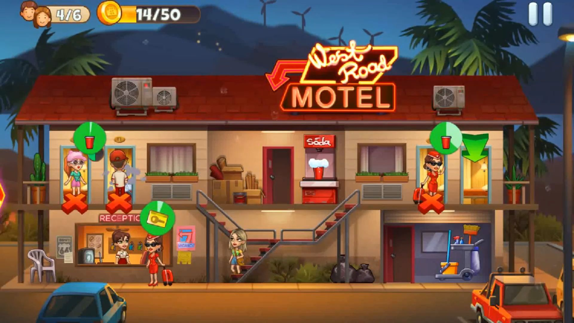 Doorman Story: Hotel team tycoon для Android