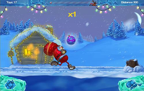 Happy Santa's runner für Android