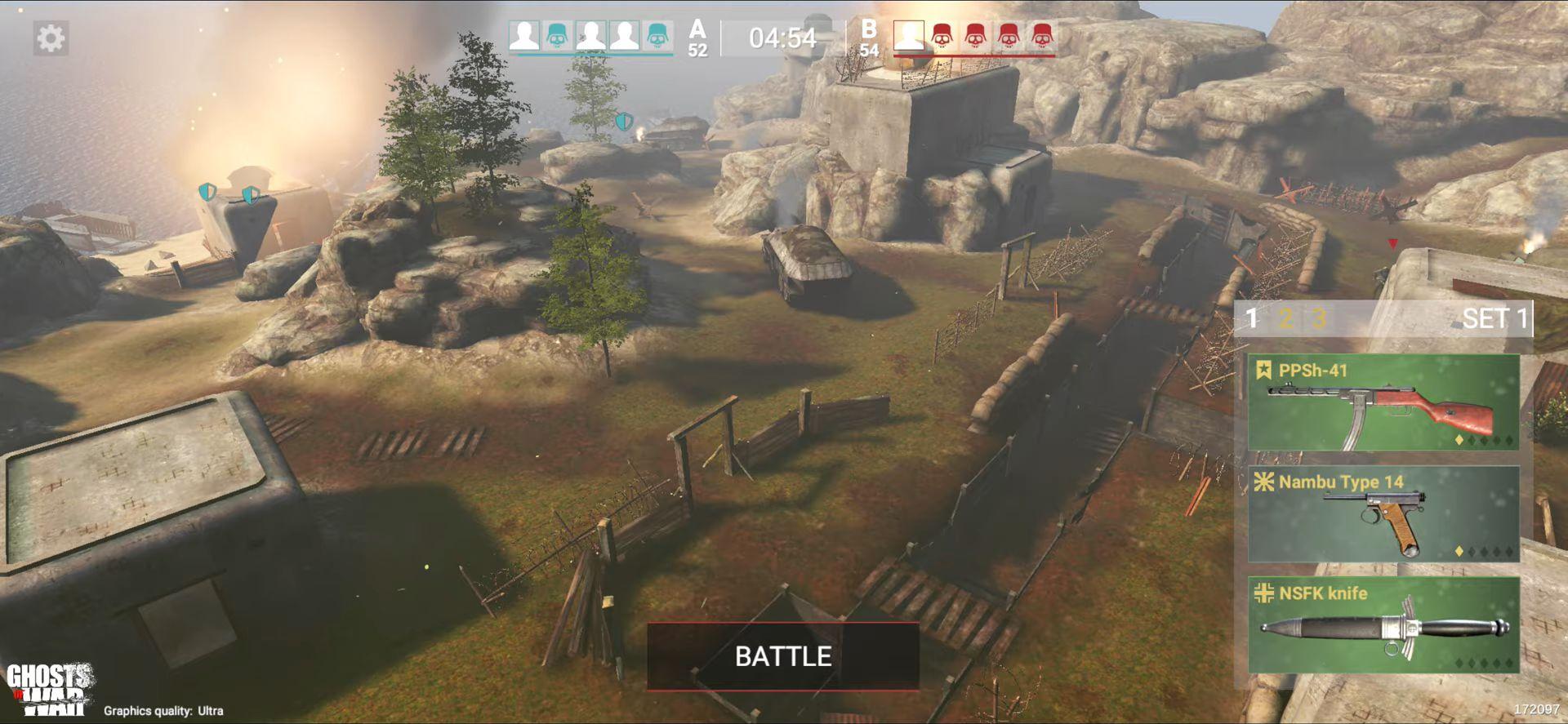 Ghosts of War: WW2 Shooting games captura de pantalla 1