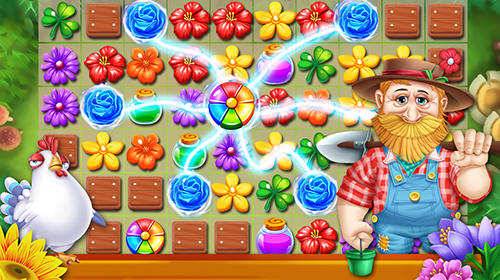 Garden flowers blossom for Android