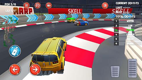 Drive and drift: Gymkhana car racing simulator game Screenshot
