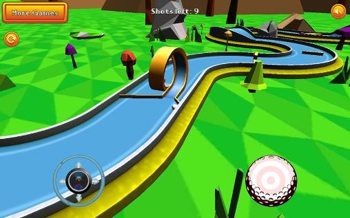 Mini golf: Retro скриншот 1