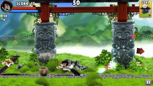 Kampfspiele Dragon Finga für das Smartphone