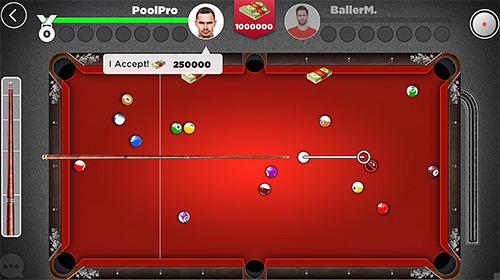 Billard-Spiele Kings of pool: Online 8 ball auf Deutsch