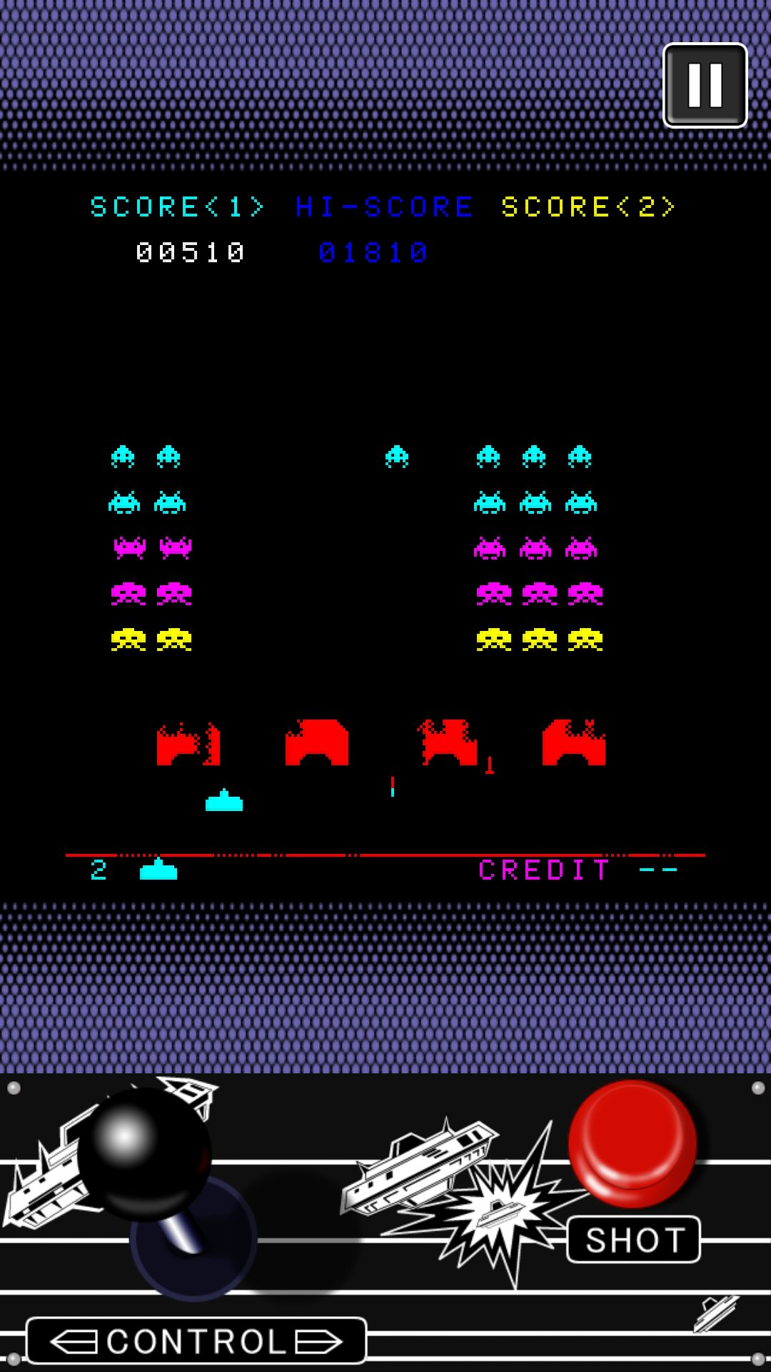 SPACE INVADERS para Android