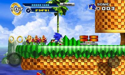 Sonic The Hedgehog 4. Episode 1 screenshots