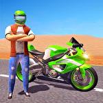 City motorbike racing icono