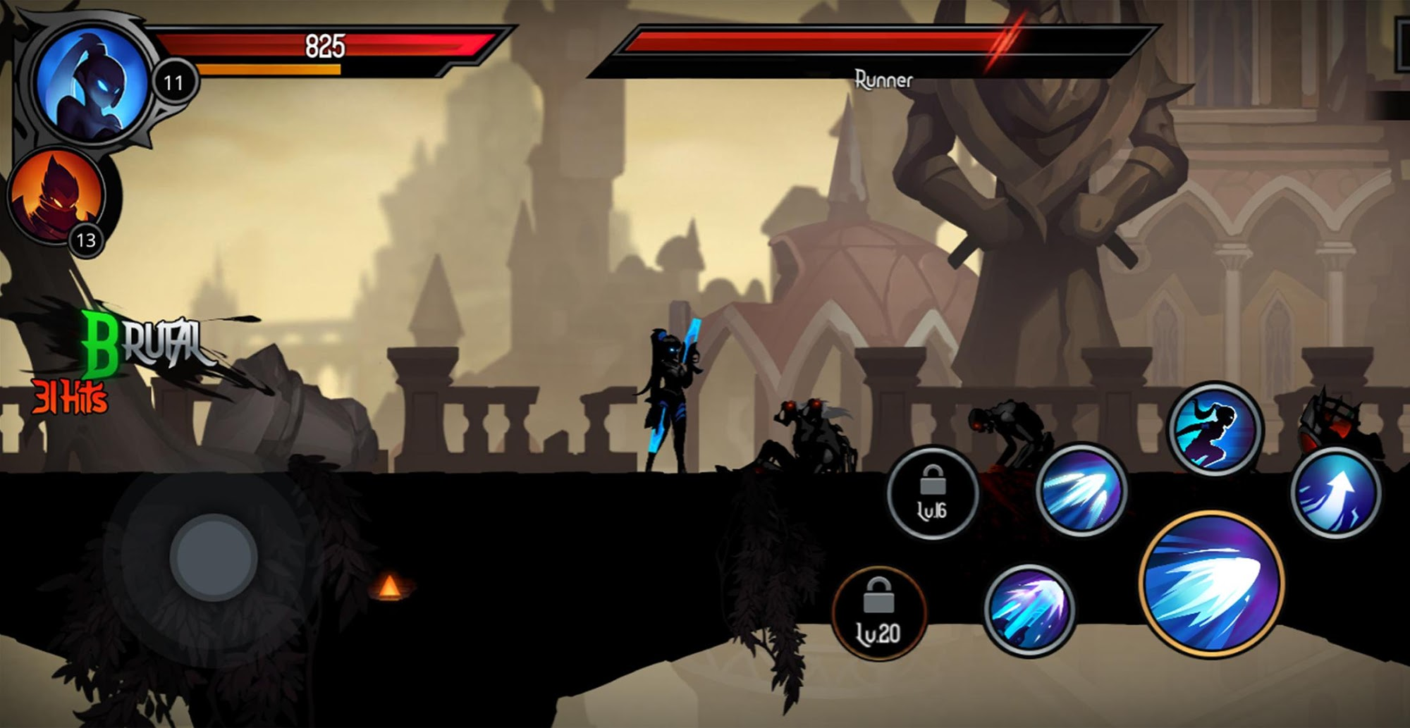 Shadow Knight Premium: Stickman & Fighting Game screenshot 1