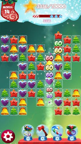 3 Gewinnt Christmas match 3: Puzzle game auf Deutsch