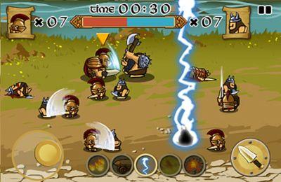 Скриншот Спартанцы против Викингов на Айфон