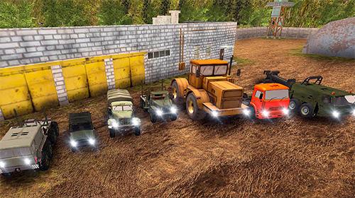 Russian truck driver simulator en español