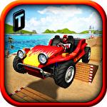 Buggy stunts 3D: Beach mania Symbol