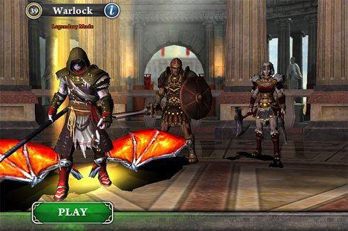 Action games Blood and glory: Immortals