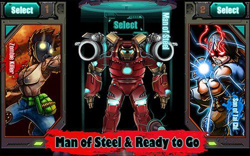 Arcade-Spiele: Lade Zombiejäger: Ironman vs Zombies auf dein Handy herunter