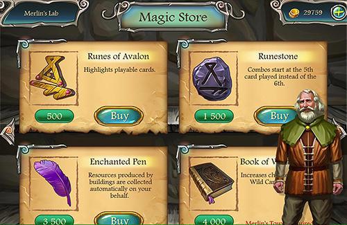 Настольные игры: скачать Avalon legends solitaire 2на телефон