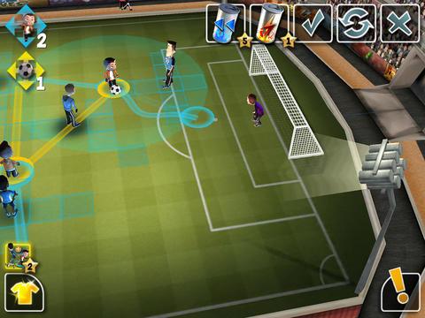 Estrategia de fútbol para iPhone