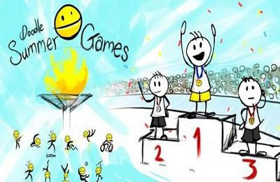 логотип Летние игры-каракули