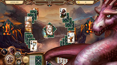 Brettspiele Snow White solitaire. Shadow kingdom solitaire: Adventure of princess für das Smartphone