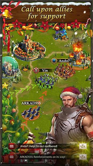 Online-Strategiespiele King's empire auf Deutsch