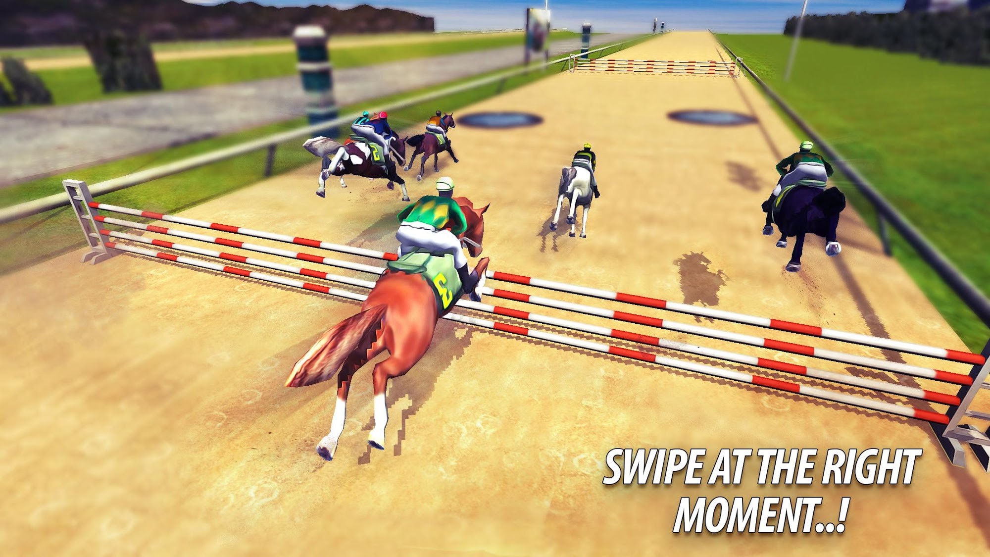 Rival Racing: Horse Contest スクリーンショット1