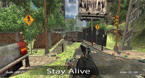 Screenshot Soldaten vs. Zombies auf dem iPhone
