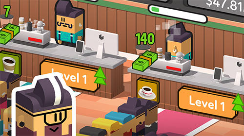 Idle coffee corp для Android