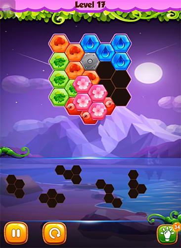 Логические игры: скачать Match block: Hexa puzzleна телефон