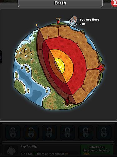 Tap tap dig: Idle clicker game Screenshot