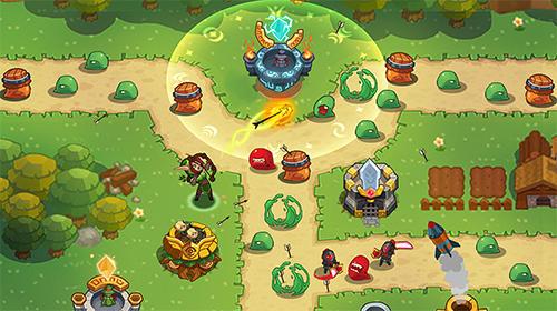 Realm defense: Fun tower game auf Deutsch
