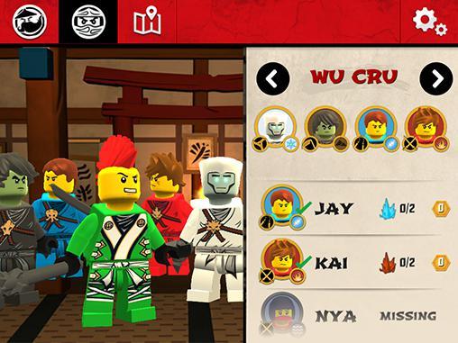 LEGO Ninjago: Wu-Crucapturas de pantalla