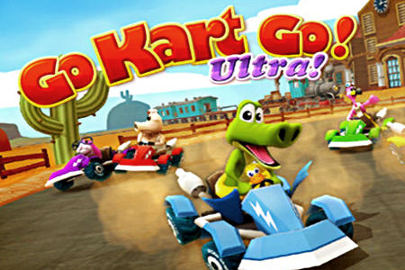 Go kart go! Ultra! capture d'écran 1