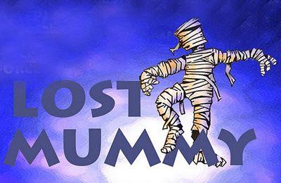 логотип Мумия заблудилась