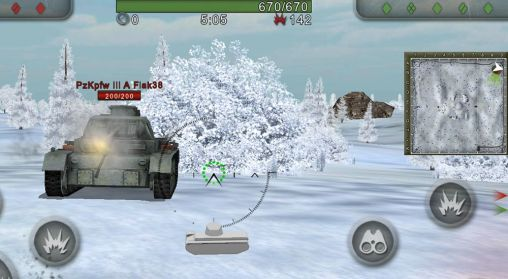 Wild tanks online para Android