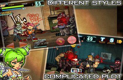 Screenshot Erschiesse viele Zombies! auf dem iPhone
