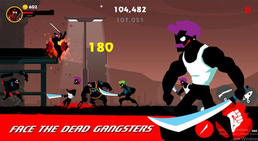 Dead slash: Gangster city screenshot 2
