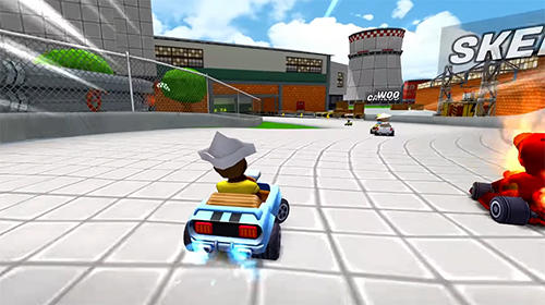 Boom karts: Multiplayer kart racing für Android