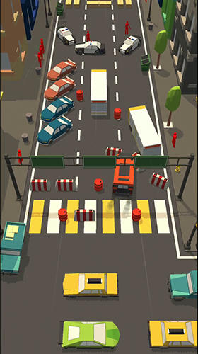 Car bump: Smash hit in smashy Road 3D Screenshot